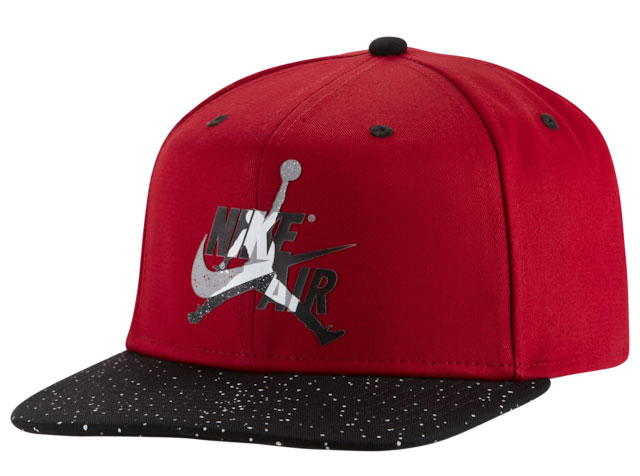 jordan-3-red-cement-snapback-hat-1