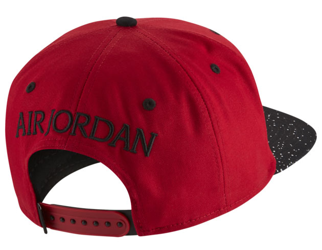 jordan-3-red-cement-snapback-hat-2