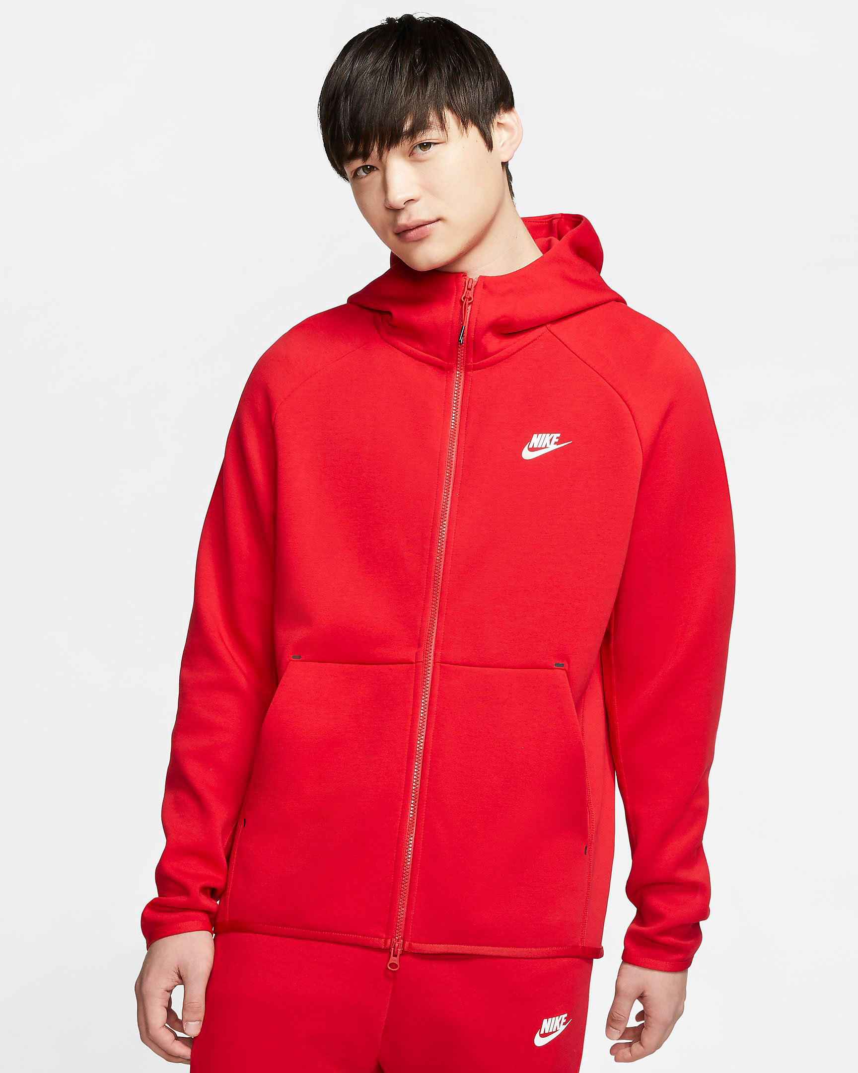 nike-red-tech-fleece-hoodie