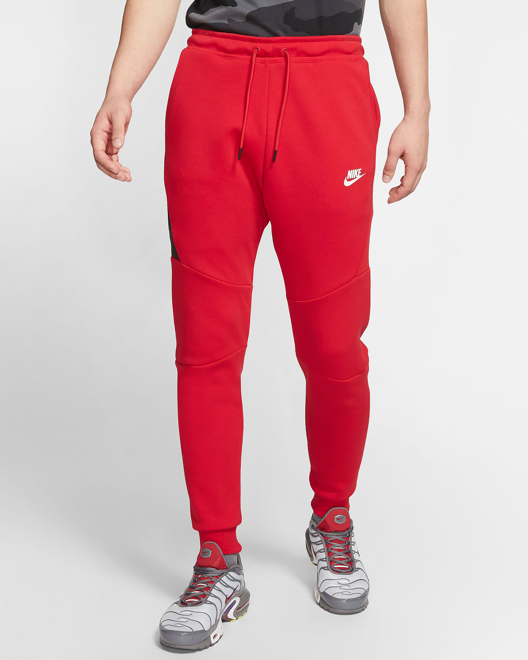 nike-red-tech-fleece-jogger-pants