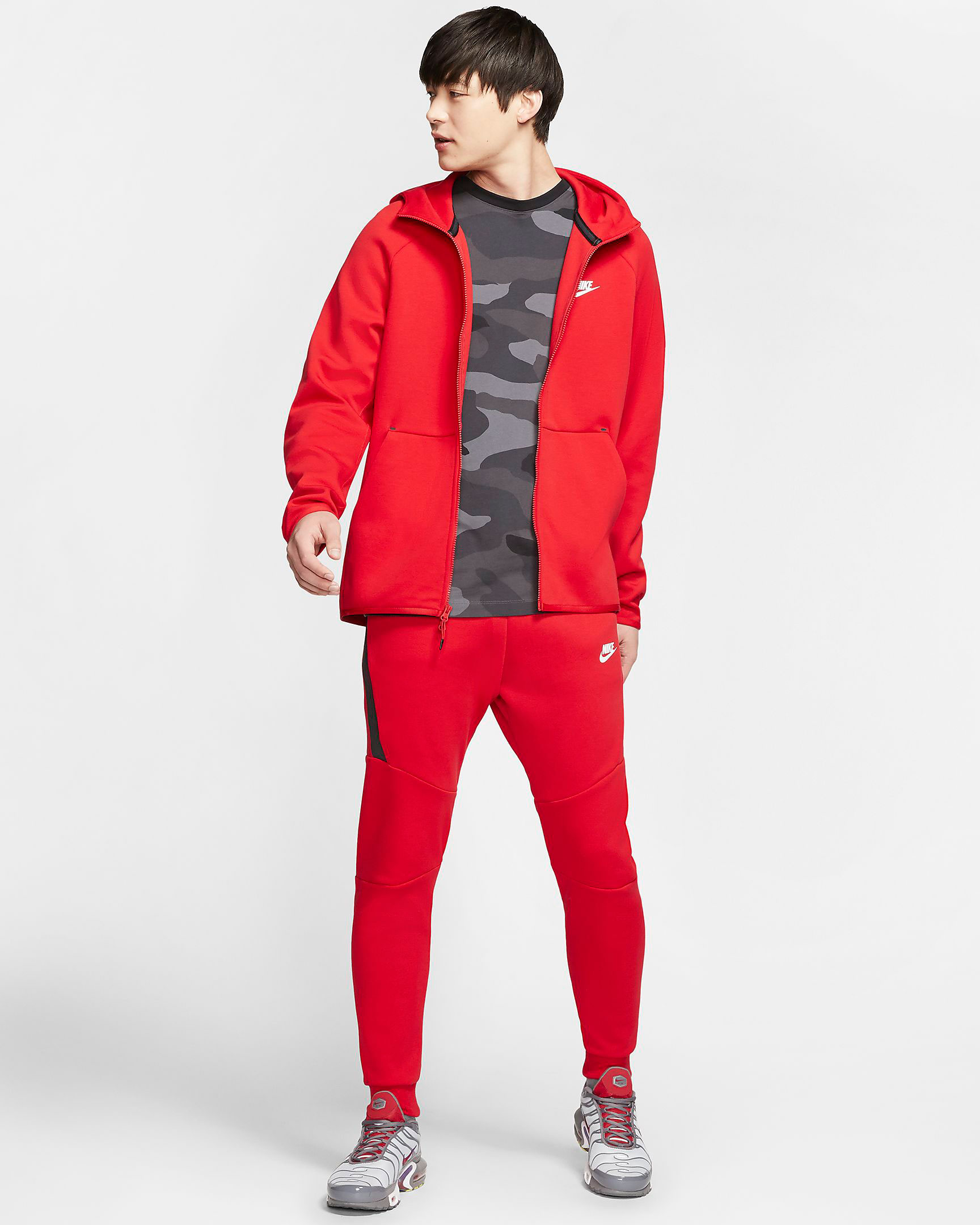 nike-tech-fleece-red-hoodie-jogger-pants