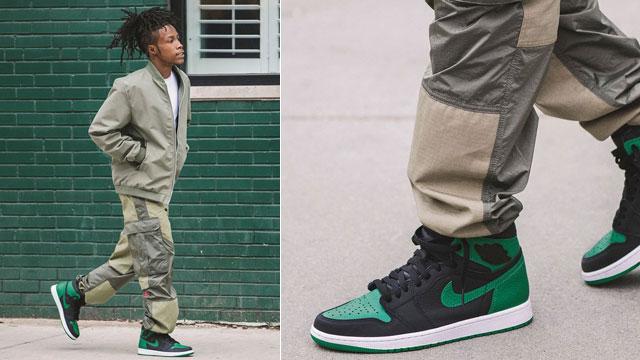 homosexual patrulla Oxidar  Air Jordan 1 Pine Green Sneaker Outfits | SneakerFits.com