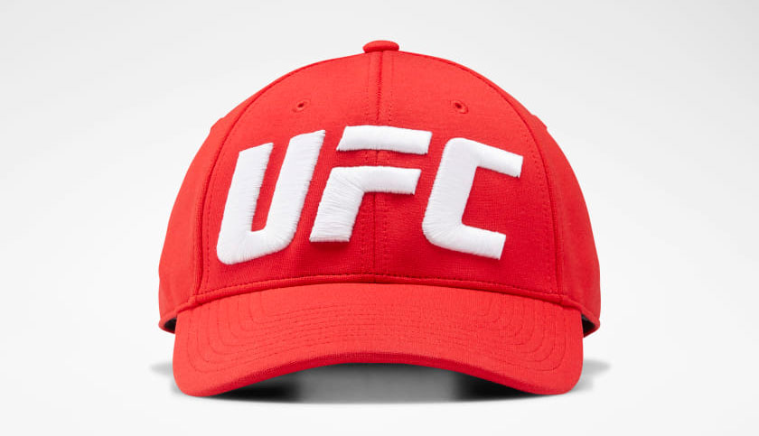 ufc-reebok-red-snapback-hat
