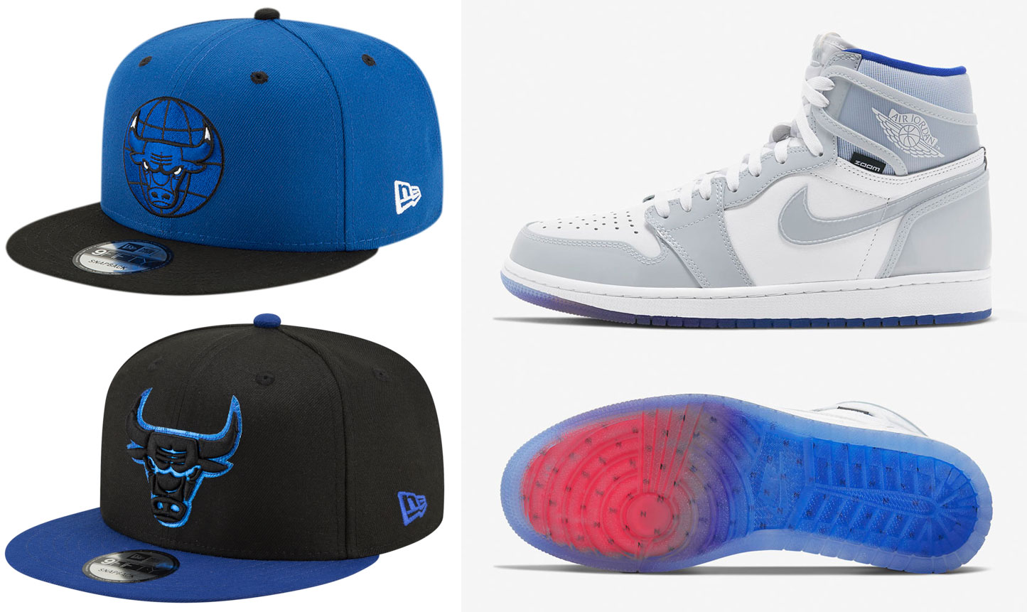 air-jordan-1-zoom-racer-blue-matching-hats