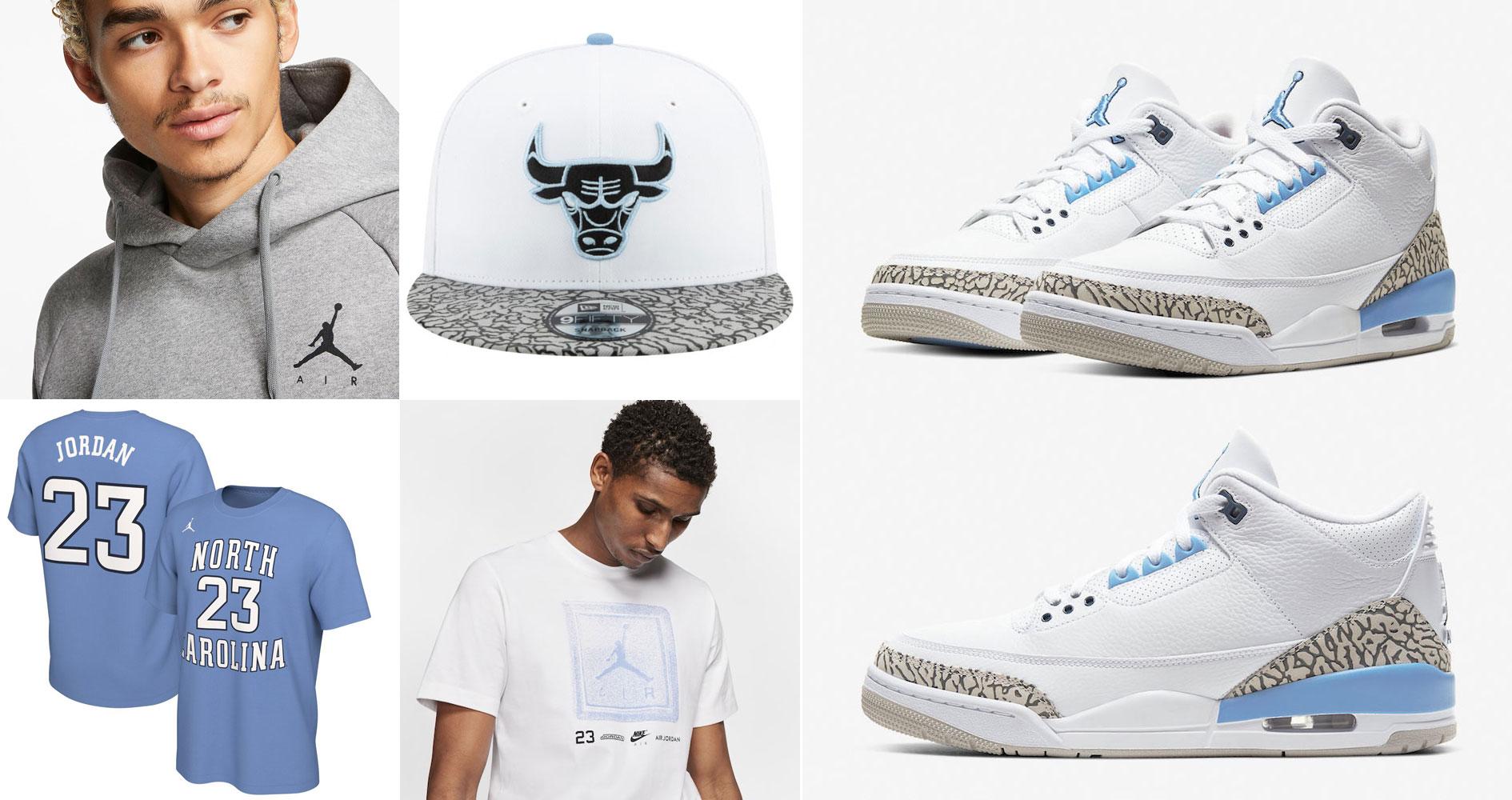 air-jordan-3-unc-clothing-sneaker-outfits