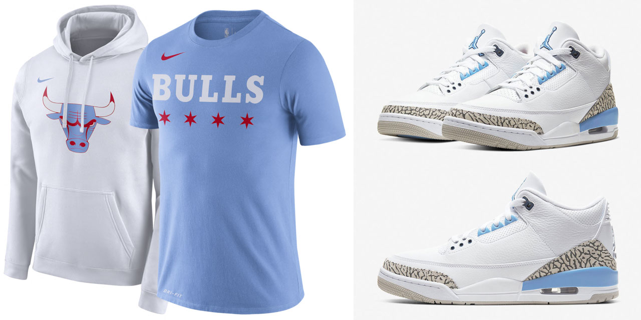 air-jordan-3-unc-valor-blue-clothing-match