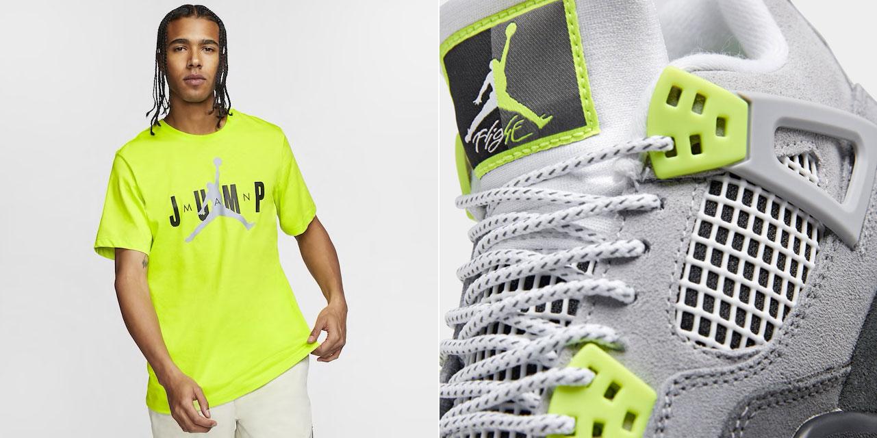 Air Jordan 4 Air Max 95 Neon Shirt Sneakerfits Com