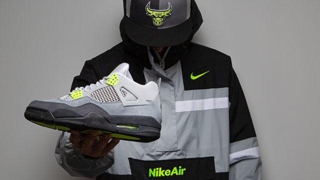 air-jordan-4-neon-air-max-95-hat-jacket-sneaker-outfit