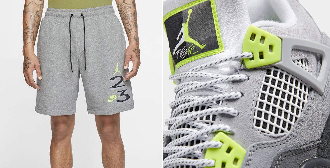 air-jordan-4-neon-air-max-95-shorts