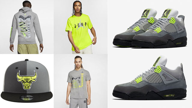air-jordan-4-neon-clothing