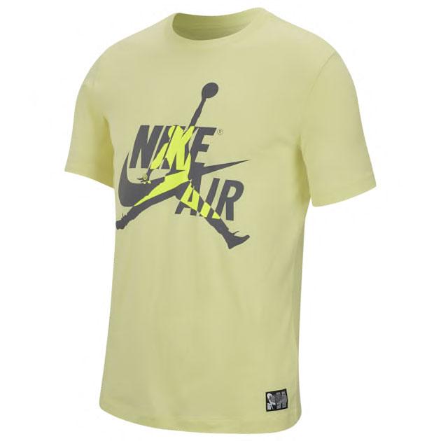 air-jordan-4-neon-nike-air-volt-shirt