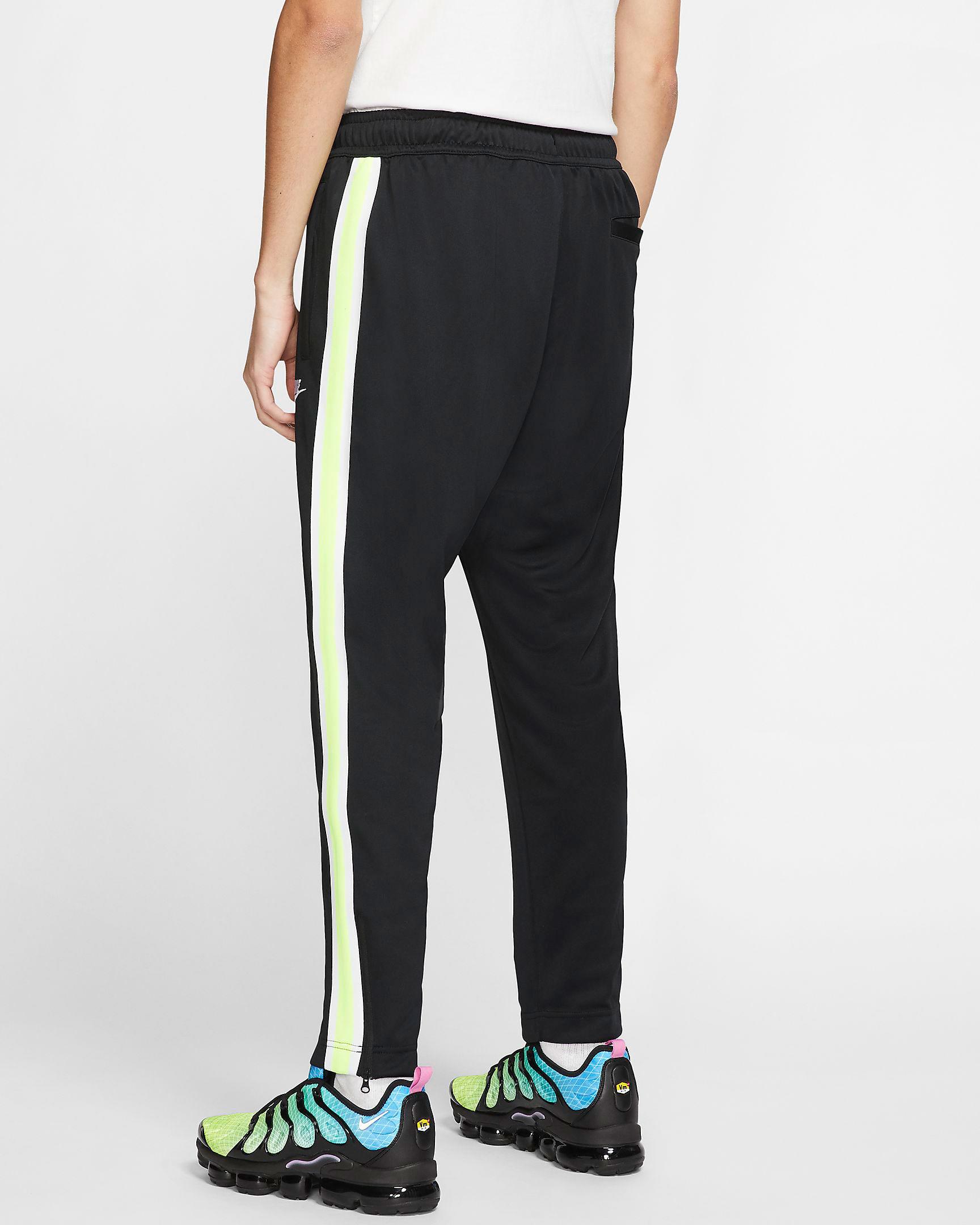 air-jordan-4-neon-nike-volt-track-pants-2