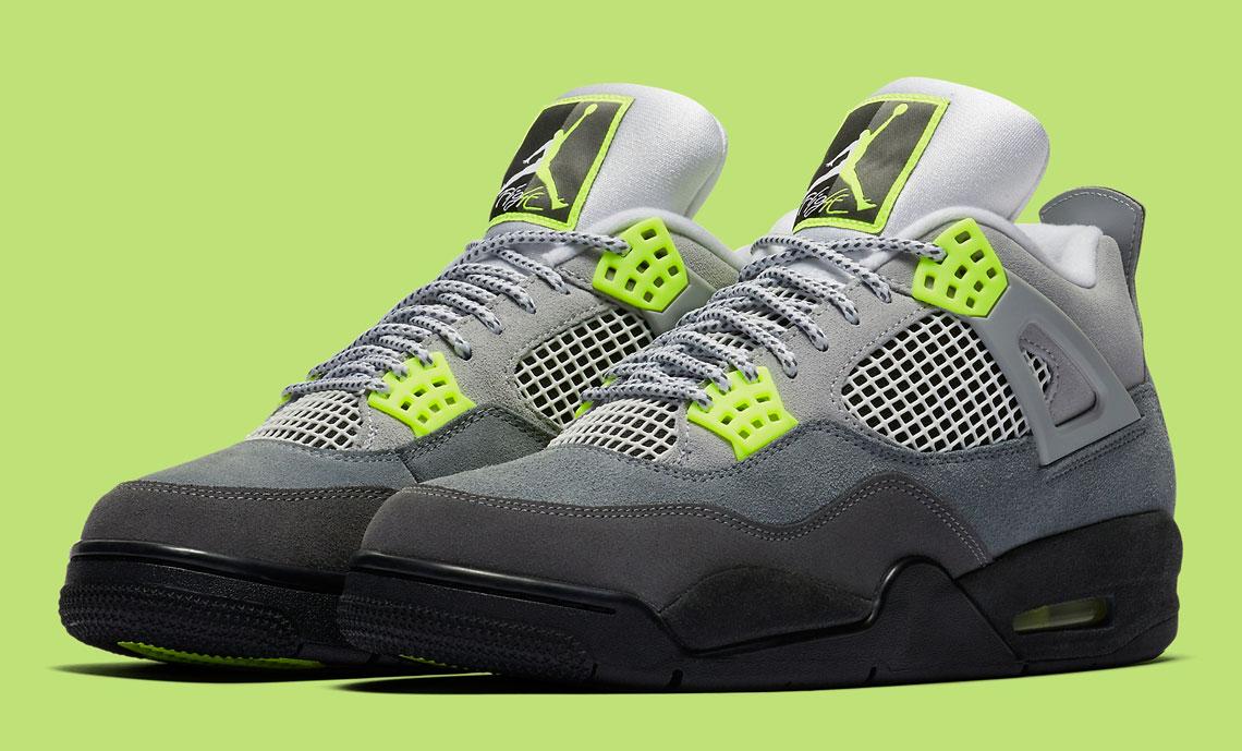 Air Jordan 4 Neon Air Max 95 Volt Socks