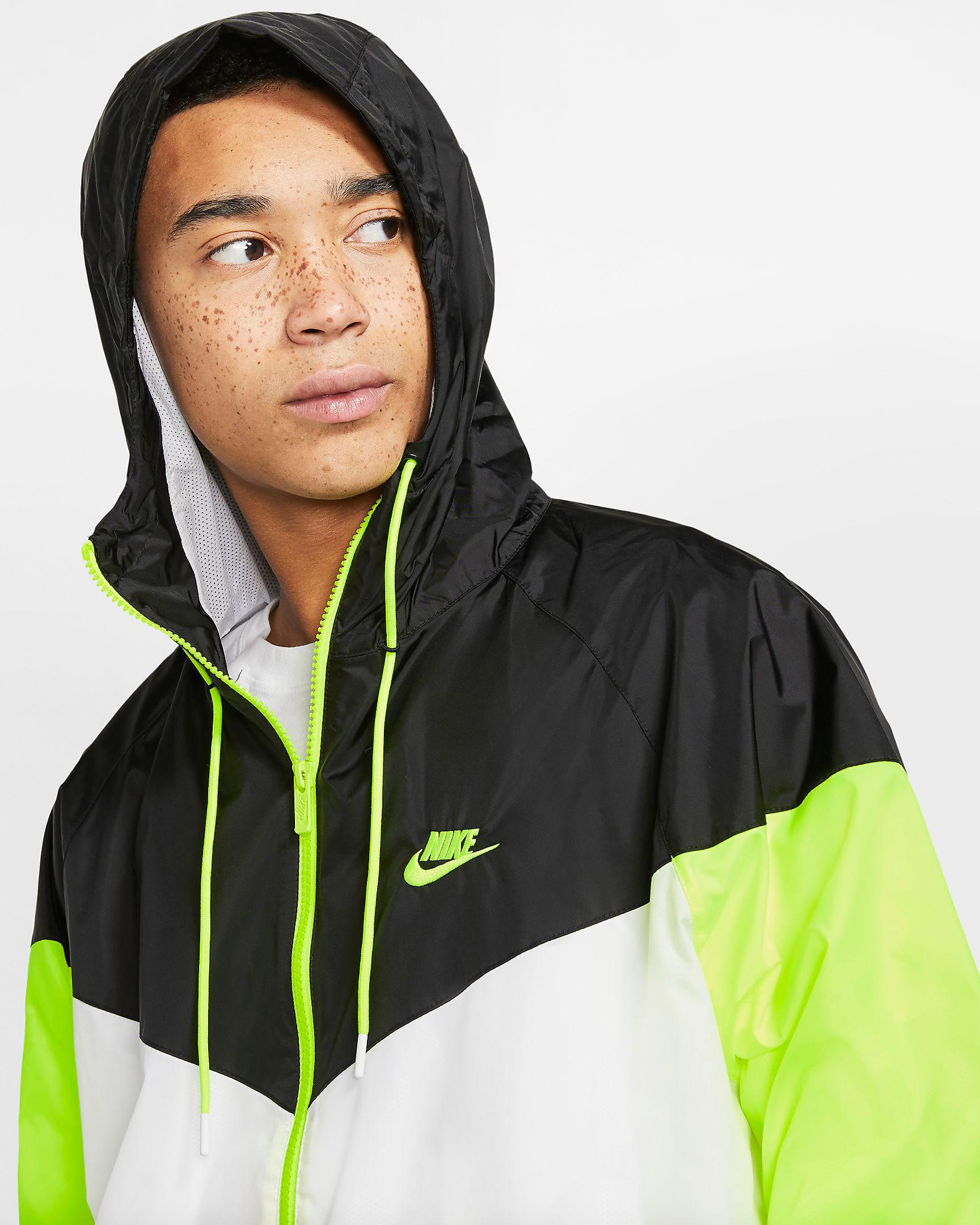 air-jordan-4-neon-volt-nike-jacket-match-3