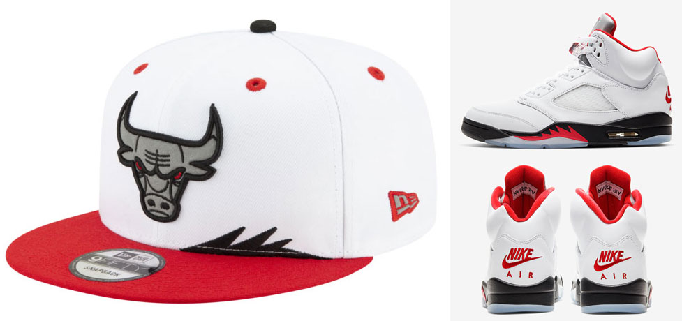 air-jordan-5-fire-red-2020-new-era-bulls-hat