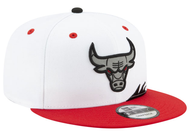 air-jordan-5-fire-red-2020-snapback-hat-3
