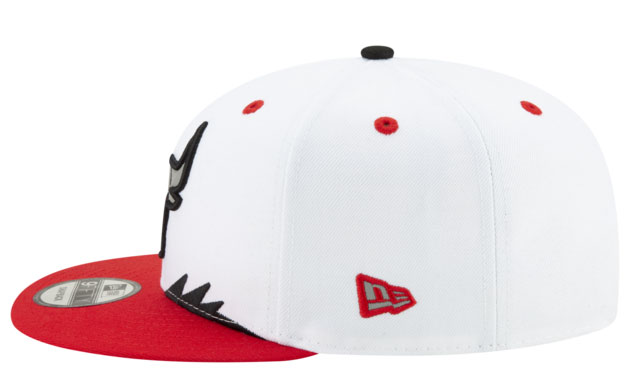 air-jordan-5-fire-red-2020-snapback-hat-4