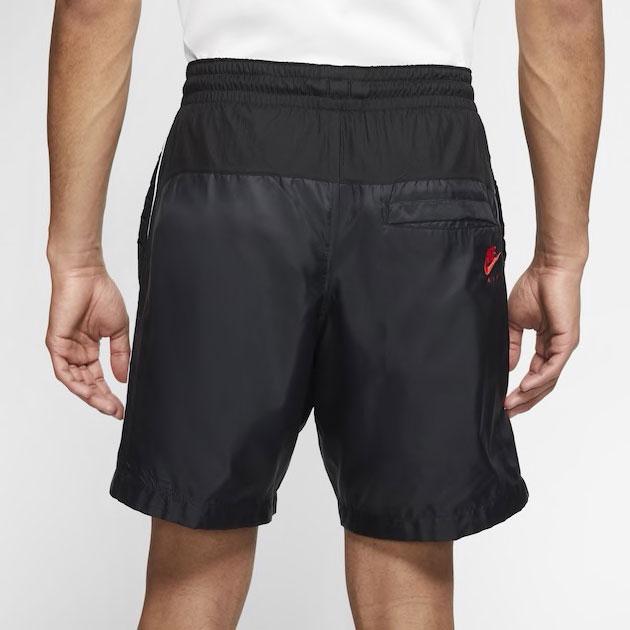 air-jordan-5-fire-red-black-shorts-2