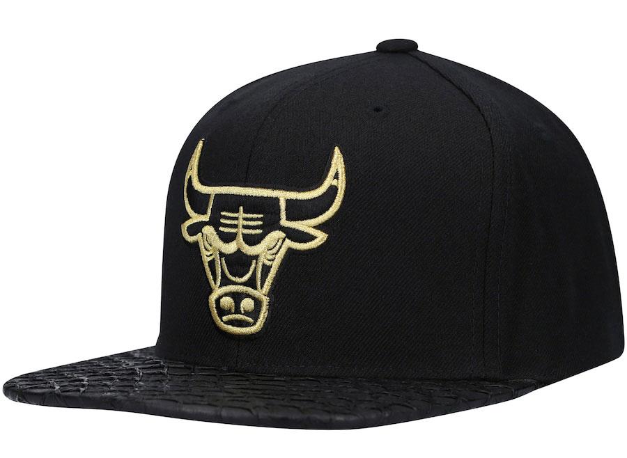 dmp-air-jordan-6-black-gold-bulls-snapback-cap-1
