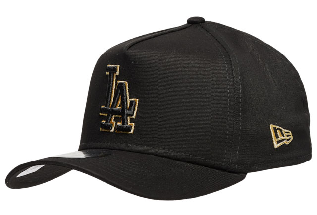 dmp-jordan-6-black-gold-new-era-dodgers-hat