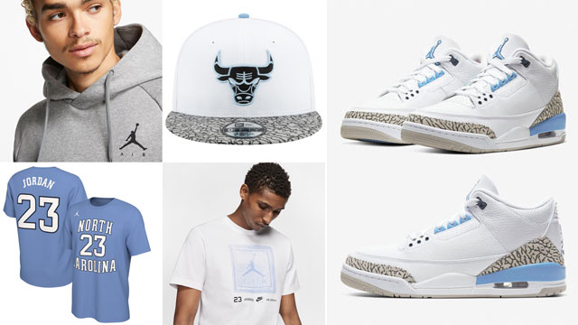 jordan-3-unc-sneaker-outfits-clothing-match