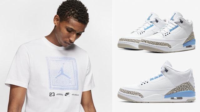 jordan-3-unc-sneaker-tee