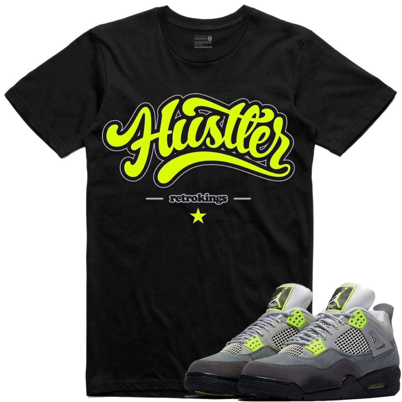 jordan-4-neon-sneaker-tee-shirt-3