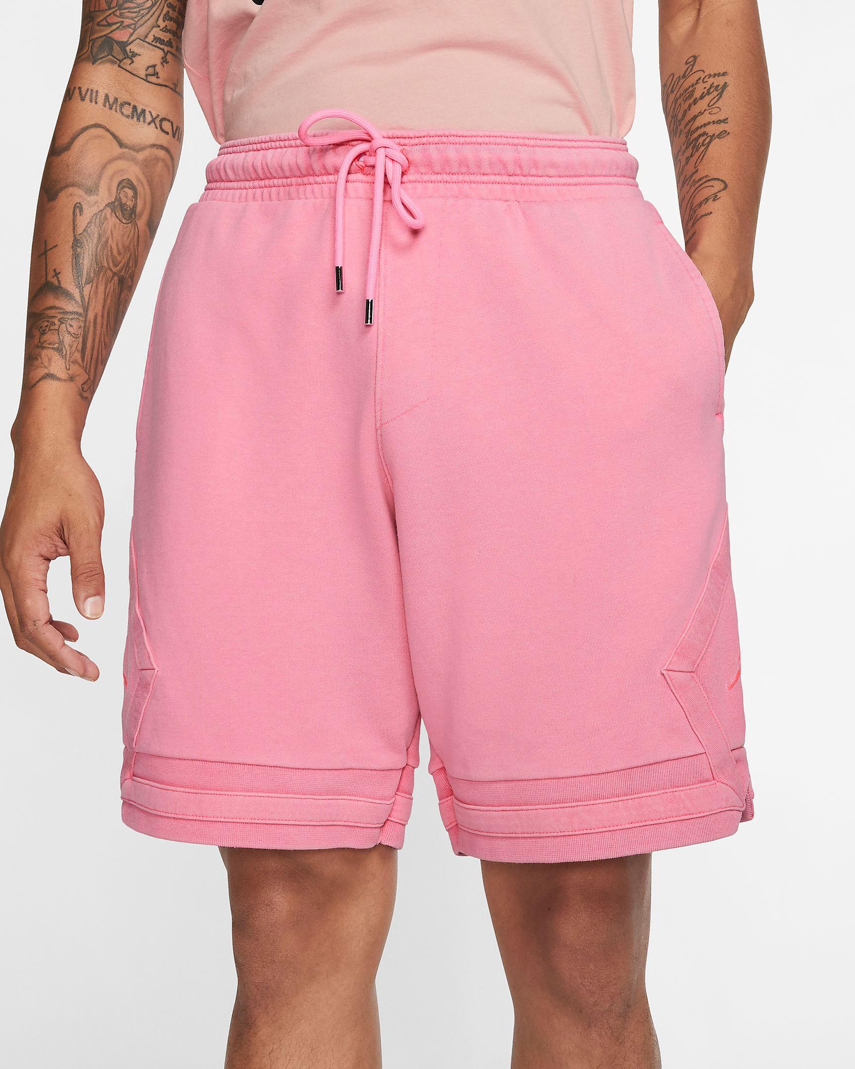 jordan-wings-washed-shorts-pink