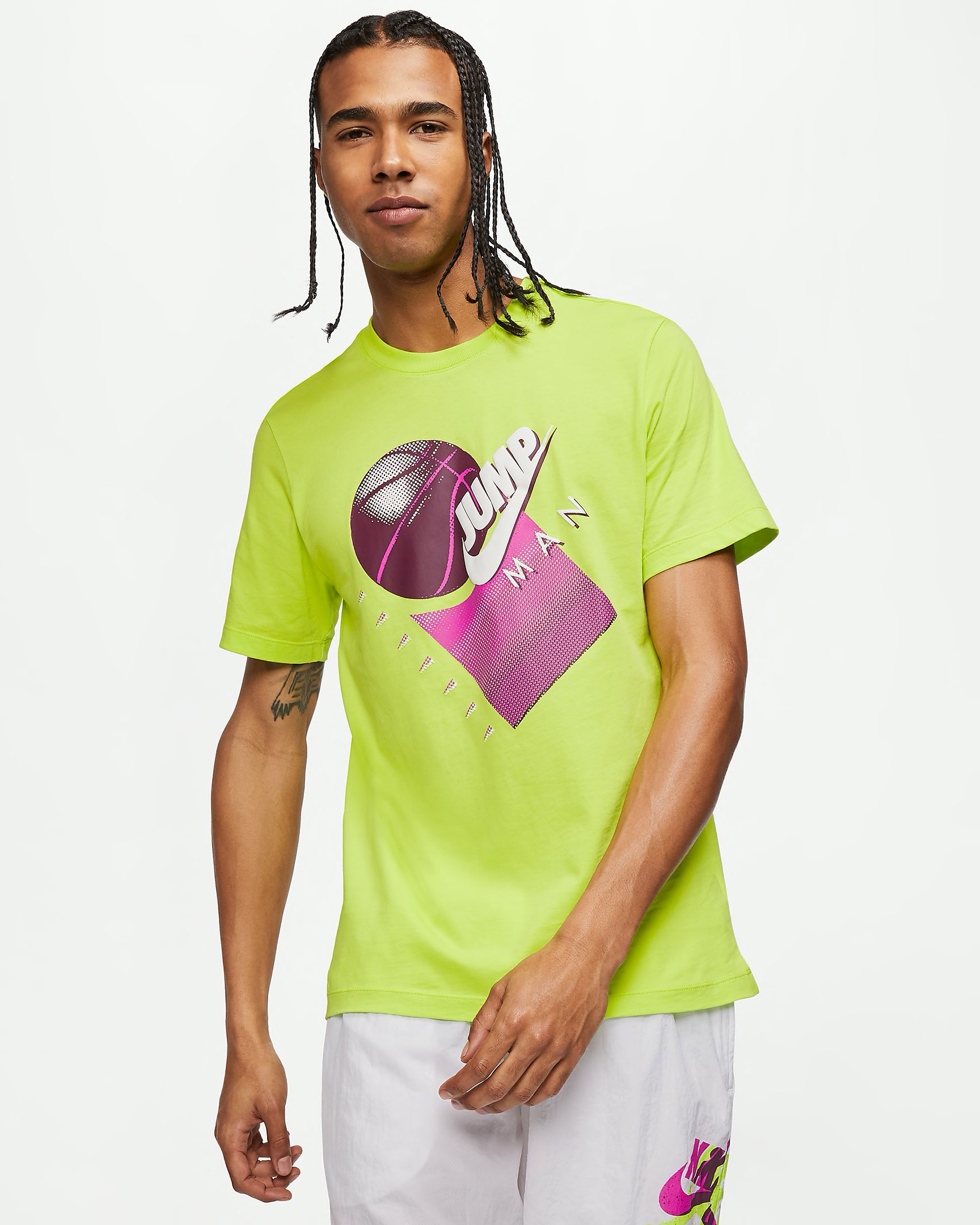 neon-jordan-4-air-max-95-shirt-match