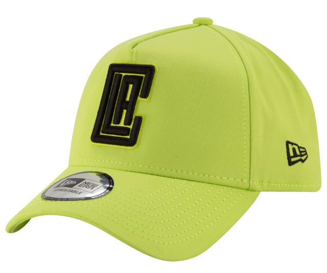 new-era-volt-green-nba-snapback-hat-clippers