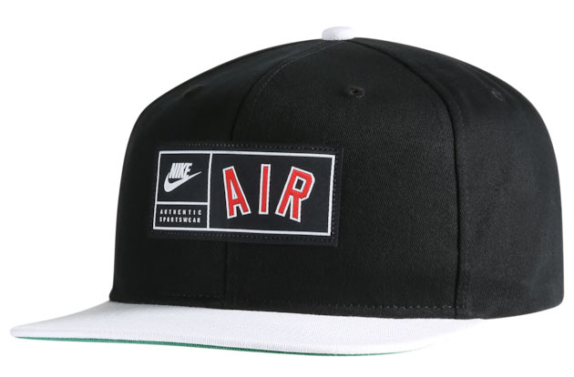 nike-air-foamposite-pro-white-black-red-snapback-hat-1