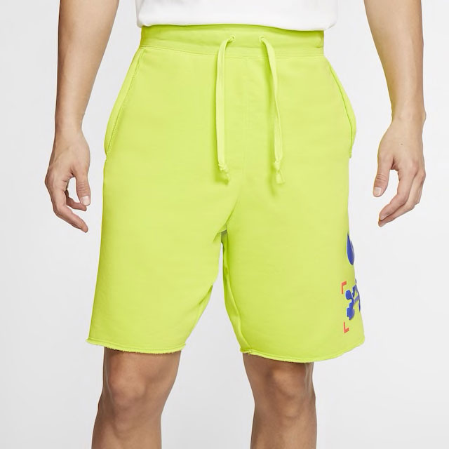 nike-catching-air-parachute-shorts-volt-green-1