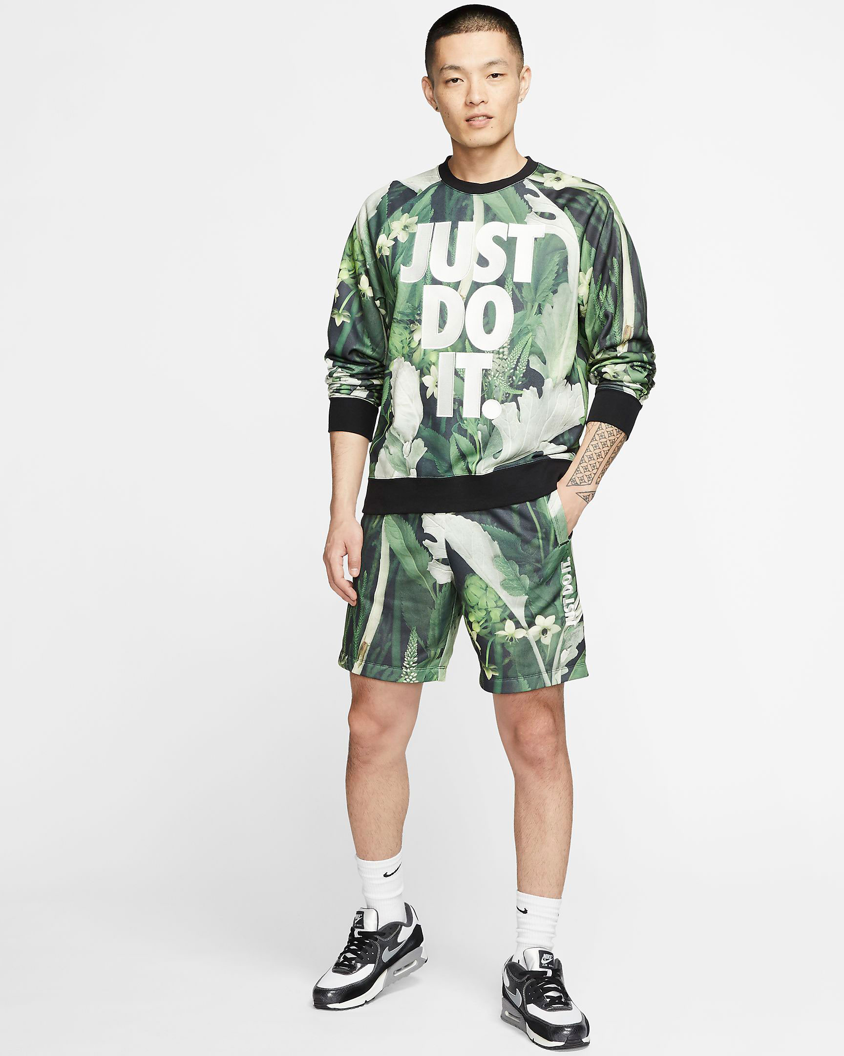 nike-just-do-it-floral-green-outfit