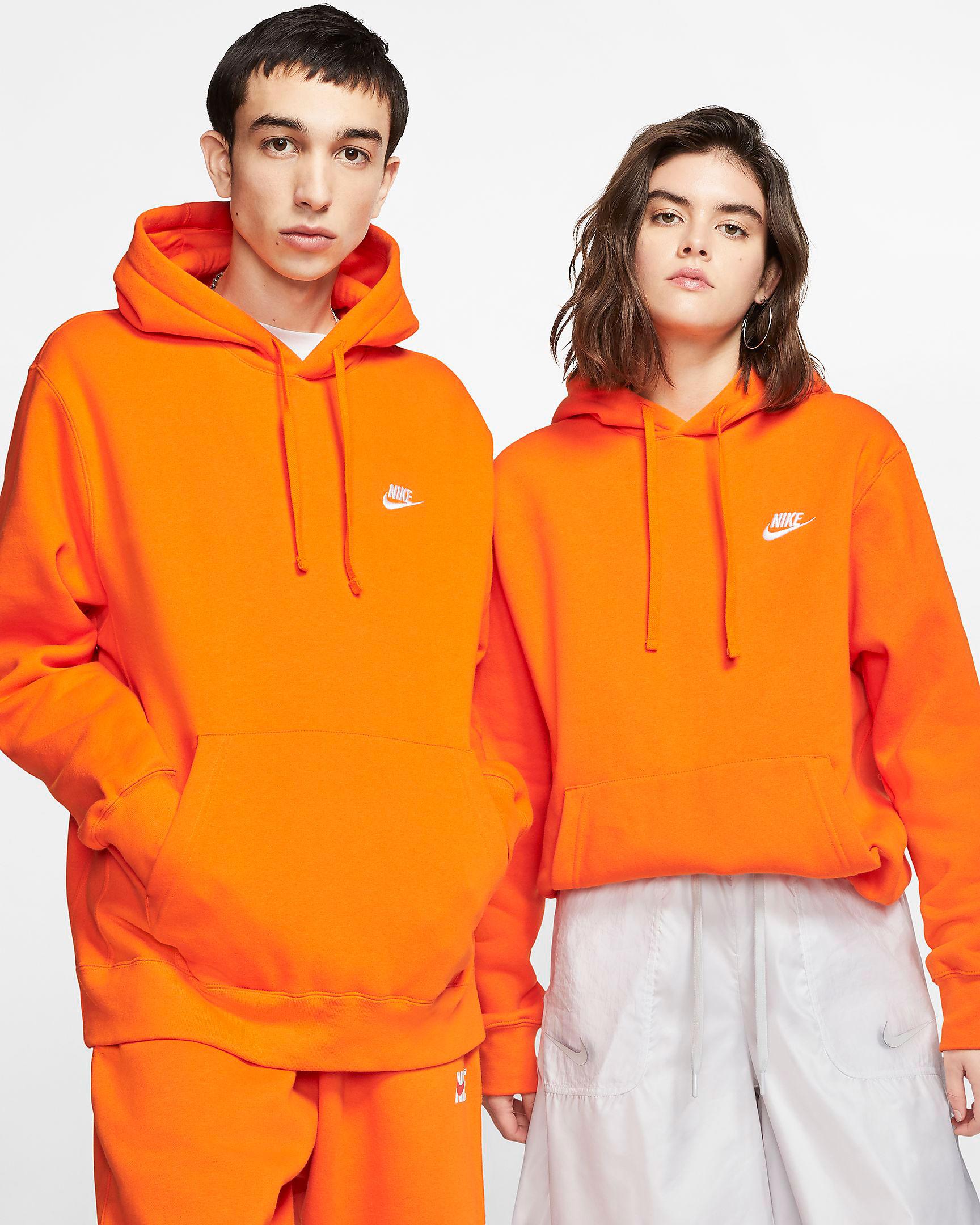 nike-sportswear-club-fleece-orange-hoodie