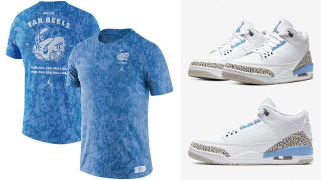 unc-air-jordan-3-tar-heels-apparel
