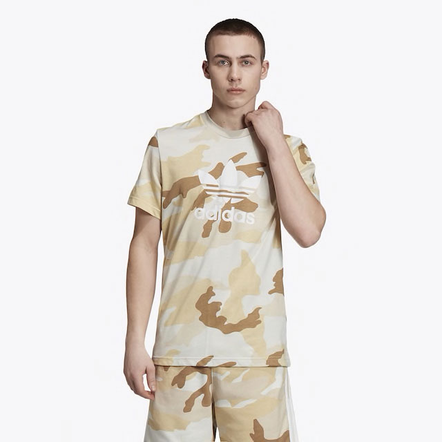 yeezy-boost-350-v2-cinder-brown-camo-tee-shirt-match