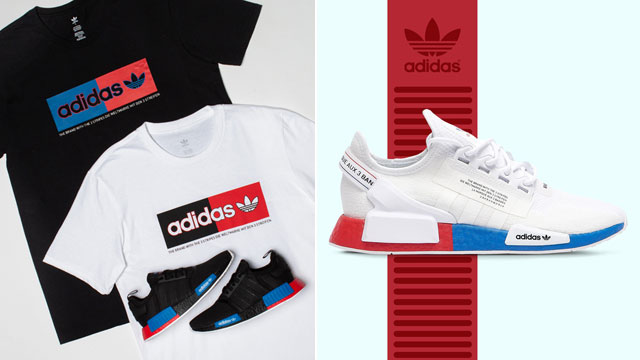 Adidas Nmd R1 V2 Black Royal And Red Available Now Sneakerfits Com