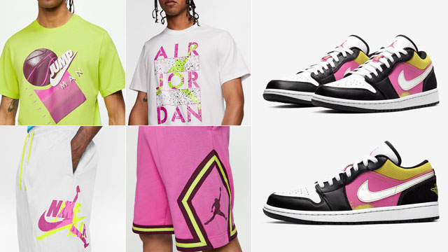 air-jordan-1-low-black-active-fuchsia-cyber-apparel