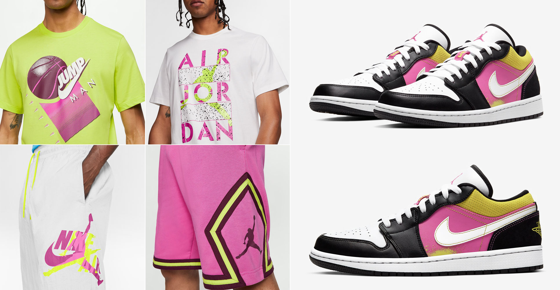 air-jordan-1-low-black-active-fuchsia-cyber-clothing-outfits