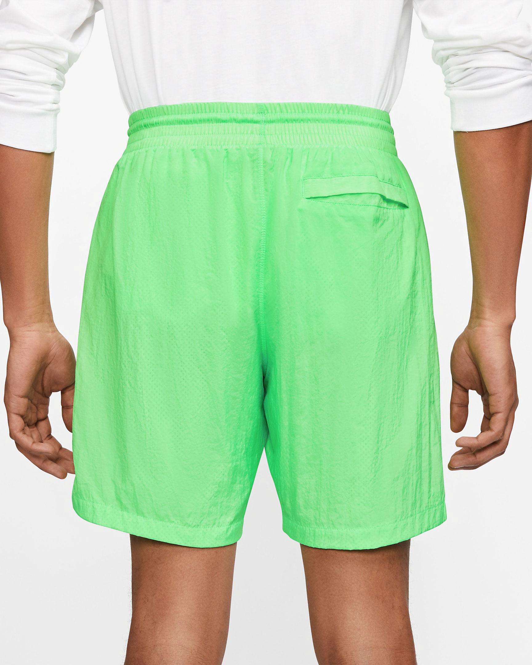air-jordan-13-flint-2020-poolside-shorts-green-3