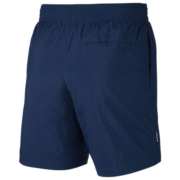 air-jordan-13-flint-2020-poolside-shorts-navy-blue-3