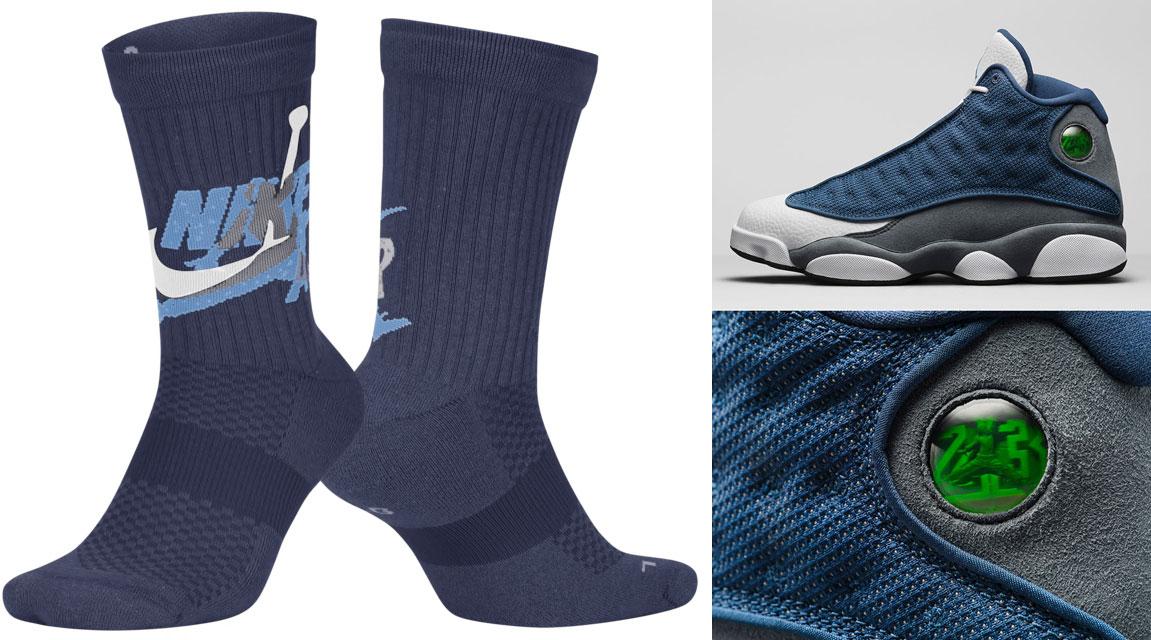 air-jordan-13-flint-2020-socks