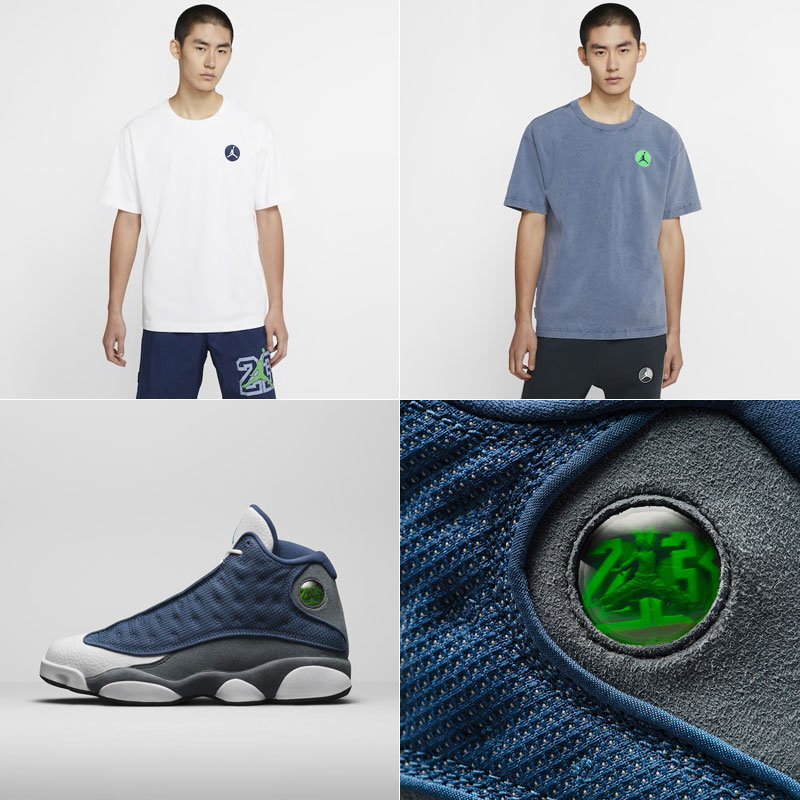 air-jordan-13-flint-hologram-shirt
