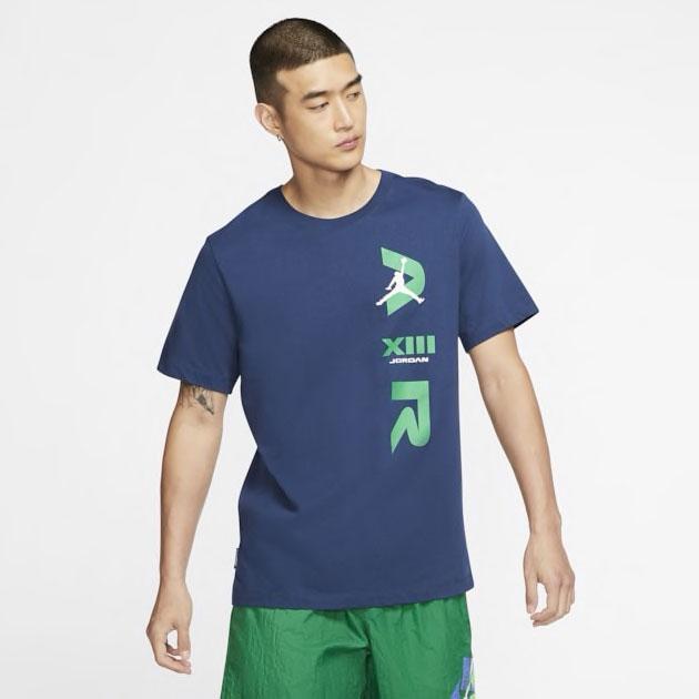 air-jordan-13-flint-logo-shirt-blue-1