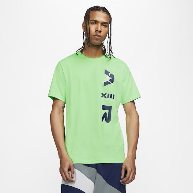 air-jordan-13-flint-logo-shirt-green-1