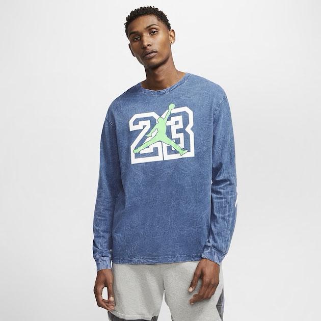 air-jordan-13-flint-long-sleeve-shirt-blue-1