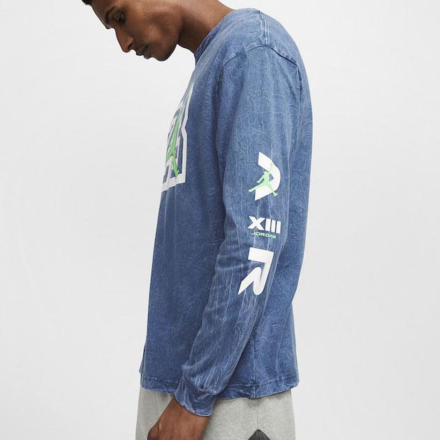 air-jordan-13-flint-long-sleeve-shirt-blue-2