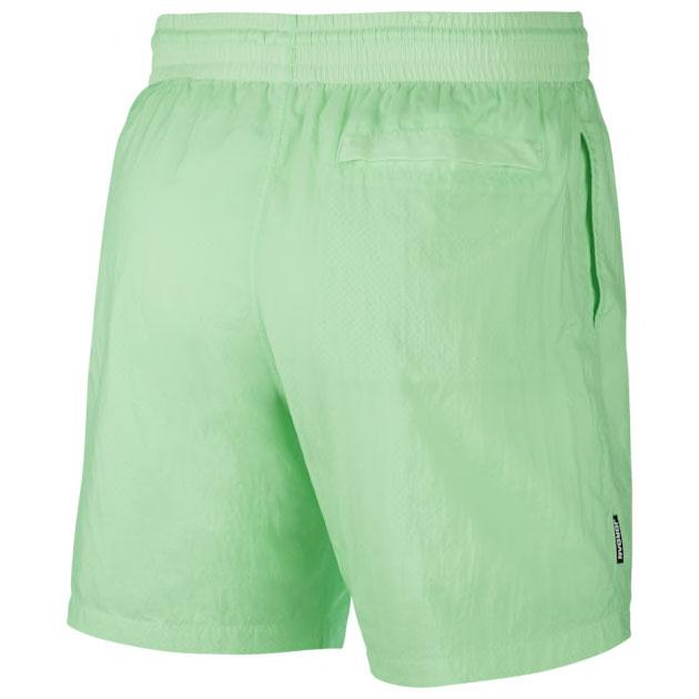 air-jordan-13-flint-shorts-green-3