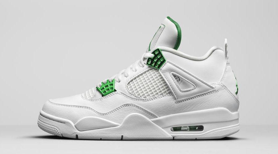 air-jordan-4-metallic-pack-white-green-release-date