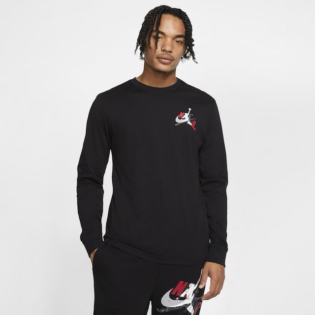 air-jordan-5-fire-red-jumpman-classics-long-sleeve-shirt-2